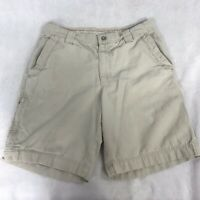 Columbia Men's Tan Khaki Omni-Shield Hiking Fishing Shorts Size 32x9