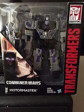MOTORMASTER, Transformers Combiner Wars. Stunticon, Menasor, Nemesis.
