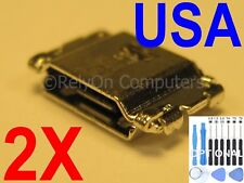 2x Micro USB Charging Port Sync For Samsung Galaxy Tab A 8.0 SM-T350 SM-T350N US