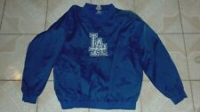 Adidas Los Angeles Dodgers Baseball Pullover Jacket Xtra Large New Sewn Logos