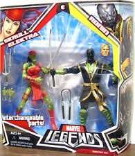 MARVEL LEGENDS 2 pack Collection_SKRULL ELEKTRA and RONIN action figures_Variant