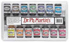 Dr PH Martins Radiant Watercolour Set  - 14 x 1/2 oz Concentrated Bottles- Set A