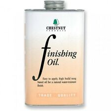 Chestnut Finishing Oil 500ml Provides a protective and decorative coating Tung