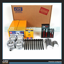 "FORD FOCUS SOHC ""P""  2.0 ENGINE REBUILD KIT-6PC FULL GASKET SET BEARINGS PISTONS"