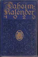 Daheim-Kalender 1929 – Rarität, beschädigt, akzeptabel - altdeutsche Schrift