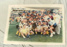 LARGE 1998 BRISBANE BRONCOS RUGBY LEAGUE  GRANDFINAL TEAM PHOTO