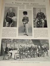 1899 DENMARK ROYAL LIFE GUARDS PRINCE CHRISTIAN BARTELS