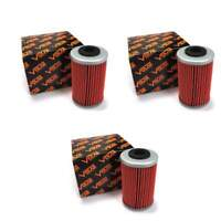 2007-2011 Polaris Outlaw 525 IRS Oil Filter - 1st Filter - (3 pieces)