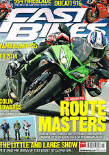 FAST BIKES #290 Summer 2014 YAMAHA MT-125 Colin Edwards TT 2014 Ducati 916 @NEW@