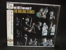 THE ROLLING STONES Got Live If You Want It ! JAPAN SHM CD Mick Jagger K.Richards
