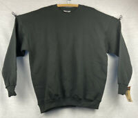 Vintage 1990's Lee Heavyweight Black Sweatshirt Extra Large New With Tags