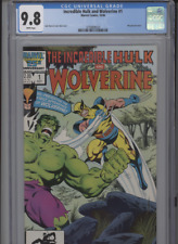 INCREDIBLE HULK AND WOLVERINE #1 MT 9.8 CGC WRAPAROUND COVER WHITE PAGES BYRNE
