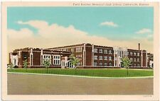 Field Kindley Memorial High School in Coffeyville Ks Postcard