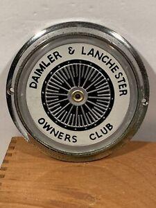 RARE Vintage Daimler & Lanchester Owners Club Grille Badge Jaguar Mercedes Rover