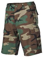 Bermudas EE.UU. PRELAVADO short Ejército camuflaje woodland Pantalones cortos