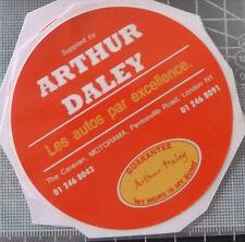 Arthur Daley Motorama Adesivo FORD VAUXHALL AUSTIN MORRIS ROVER TRIUMPH