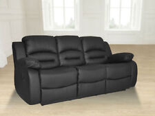Leather Up to 3 Recliner Sofas