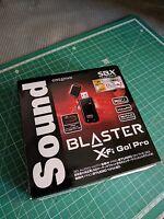 creative sound blaster x-fi go! pro revision a sb-xfi-gpr2 usb dac sound card