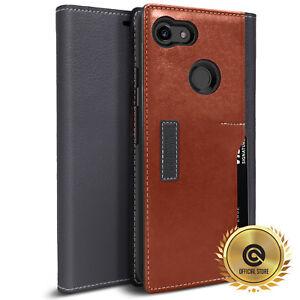 OBLIQ Google Pixel 3/3 XL Case [K3 Wallet] Leather Hand Made Premium Case Cover