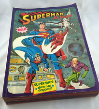 COMICPACK Superman Album 1-10 1982 Zustand 2