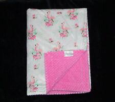 S&L Home Fashions Pink Flamingo Baby Blanket Rn 119741 Security Lovey