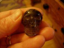 crystal skull egyptian smokey Ca 43