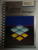 Lattice C-sprite debugger, for IBM PC [1986]  - Unused. Evaluation copy