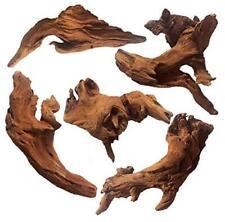 5 Pieces Natural Driftwood for Aquarium,Fish Tank Decoration Reptile Decor 5 L