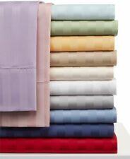 Charter Club Standard Pillow Sham Damask Stripe 500 Tc Pima Cotton Grey E94046
