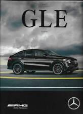 2017 17  Mercedes Benz GLE Class Coupe   AMG  Original  Sales Brochure