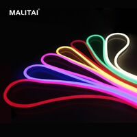 1M-5M Waterproof Flexible LED Neon Strip Fairy Light Glow 220V EU Plug 120LEDs/M