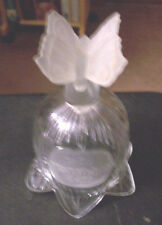 Goebel Mother'S Day Bell 1979 Frosted Butterfly