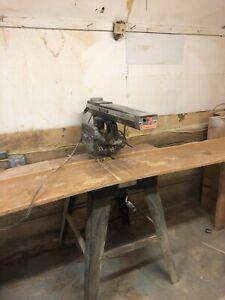 vintage radial arm saw
