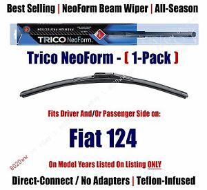 Super Premium NeoForm Wiper Blade (Qty 1) fits 1970-1983 Fiat 124 - 16140