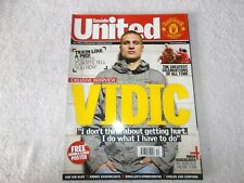 Manchester United Magazine Issue #185 December 2007 Vidic Owen Hargreaves