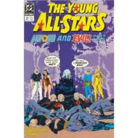 Young All-Stars #21 in Very Fine + condition. DC comics [*j6]