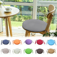 Round Garden Chair Pad Indoor Outdoor Bistro Stool Patio Dining Home Seat Pad GW