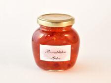 Rosenblüten-Gelee 250 g - mit Duftrosenblütenblätter - Rosengelee -