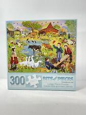 "New 300 Piece R. Solomon  Art Puzzle ""Indian Summer Sunset ""Large Format 18""x24"""