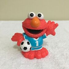 "Soccer Elmo Sesame Street Workshop Hasbro 2011 3"" PVC Figure"