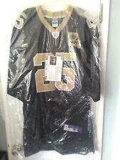 Reggie Bush #25 Official New Orleans Saints Black Reebok Autographed Game Jersey