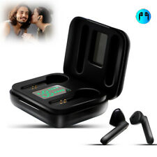 Wireless Mini Earbuds Bluetooth V5.0 Stereo Earphones Noise Cancelling with Mic