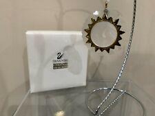 Swarovski Crystal Figurine Crystal Christmas Memories Gold Ornaments Sun 203082