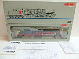 Märklin 3690 H0 Tender Steam Locomotive Br 11 0569 Digital #1 Tested Boxed