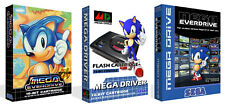 Mega Everdrive Sega MD Replacement Game Box Case Only + Cover Art Work No Game