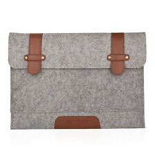 "Mosiso Felt 15-Inch Sleeve Carrying Case Laptop Bag Cover for 15"" Apple MacBook"