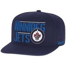 Winnipeg Jets Reebok VS80Z NHL Hockey Script Team Logo Snapback Cap Hat