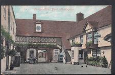 Huntingdonshire Postcard - George Hotel Yard, Huntingdon     RS7886