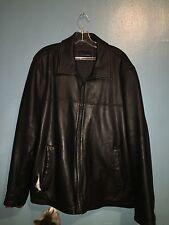 Tommy Hilfiger Leather Bomber Jacket XL