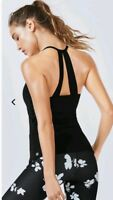 NWT Fabletics Diara Tank XS XSmall Black Sold Out